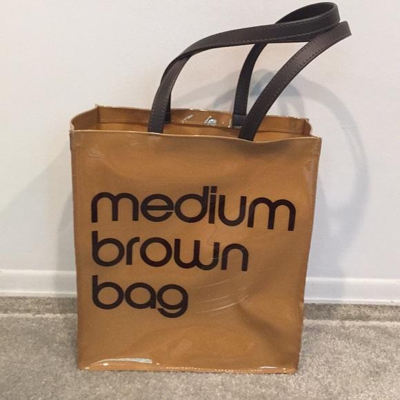 c3fd35b5b8 Bloomingdale's Bags | Iconic Bloomingdales Medium Brown Bag | Poshmark